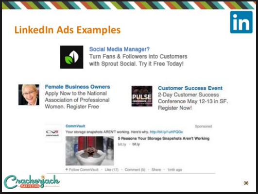 professional advertising examples